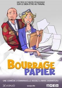 Affiche Bourrage Papier