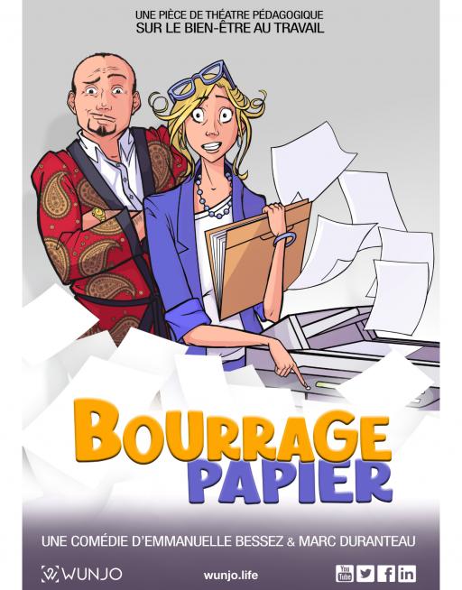 visuel bourrage papier