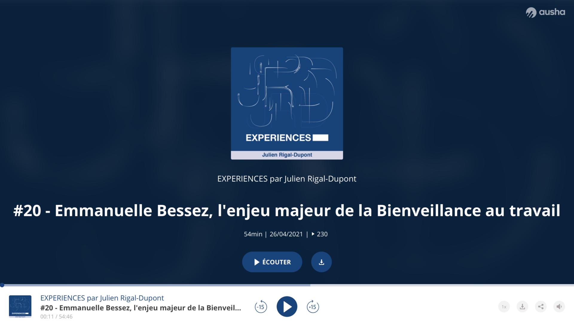 Podcast Julien Rigal